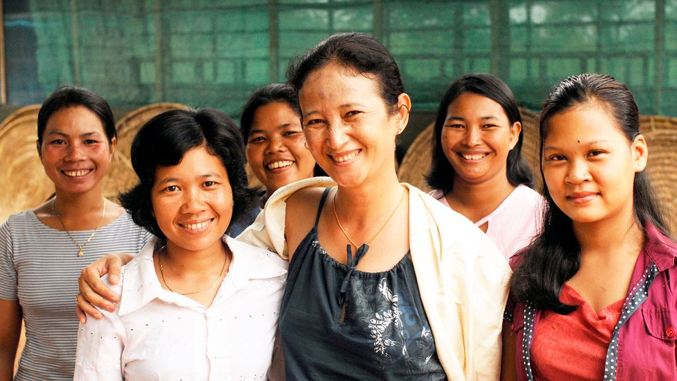 Golden Silk Pheach has provided jobs to more than 100 employees, most of whom are women (Credit: Golden Silk Pheach)