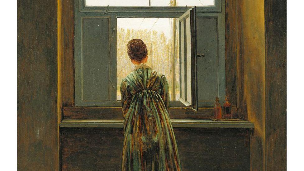 Картина Каспара Давида Фридриха у окна (1822 г.) была первой, кто осознал символические возможности мотива открытого окна (Источник: Getty Images)