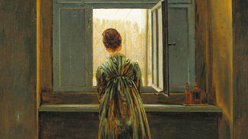 Женщина у окна - Каспар Давид Фридрих