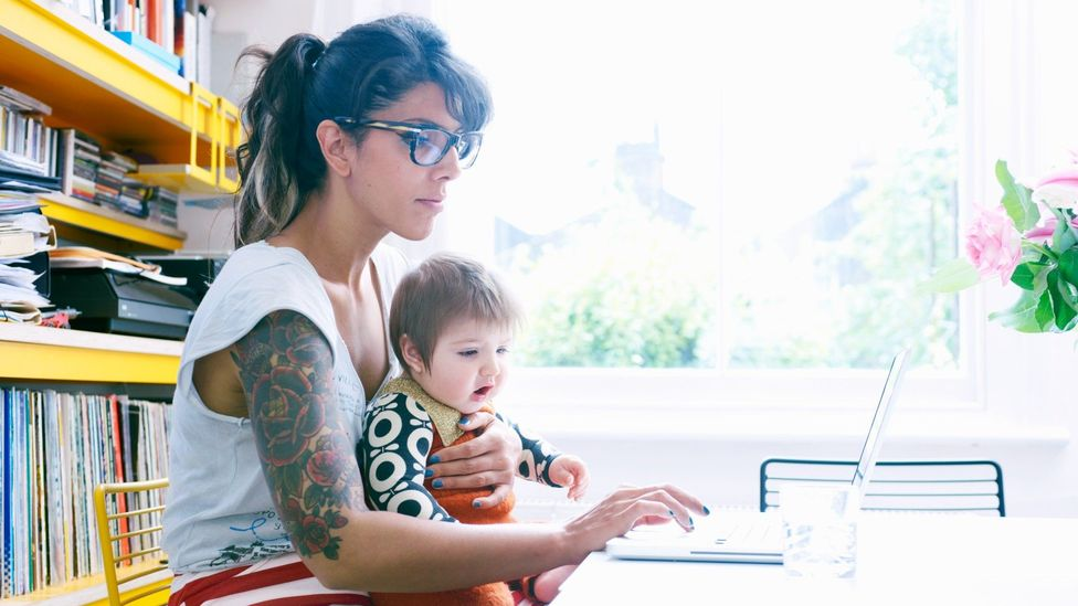 The pandemic has laid bare the unmanageable load on working mothers – but will it lead to change? (Credit: Getty)