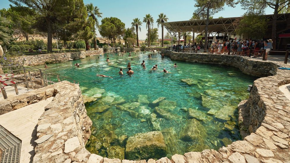 Visitors from across the Roman Empire came to the spa town to soak in the mineral-rich, geothermal waters (Credit: Sebastian Condrea/Getty Images)