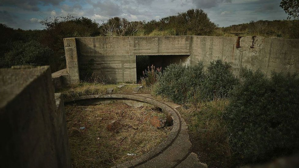 Eventually, nature takes back everything: a concrete military bunker is reclaimed by dunes at Spurn Point in Yorkshire, UK (Credit: Dan Kitwood/Getty Images)