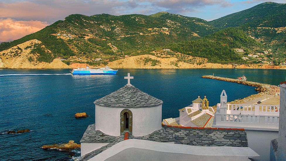 The verdant island is dotted with Byzantine chapels and churches (Credit: Demetrios Tilis/Getty Images)