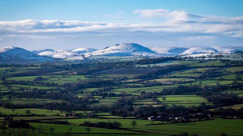 Shropshire's rolling landscapes are bucolically picturesque – and often unfairly overlooked by tourists (Credit: Andrea Edwards/Getty Images)