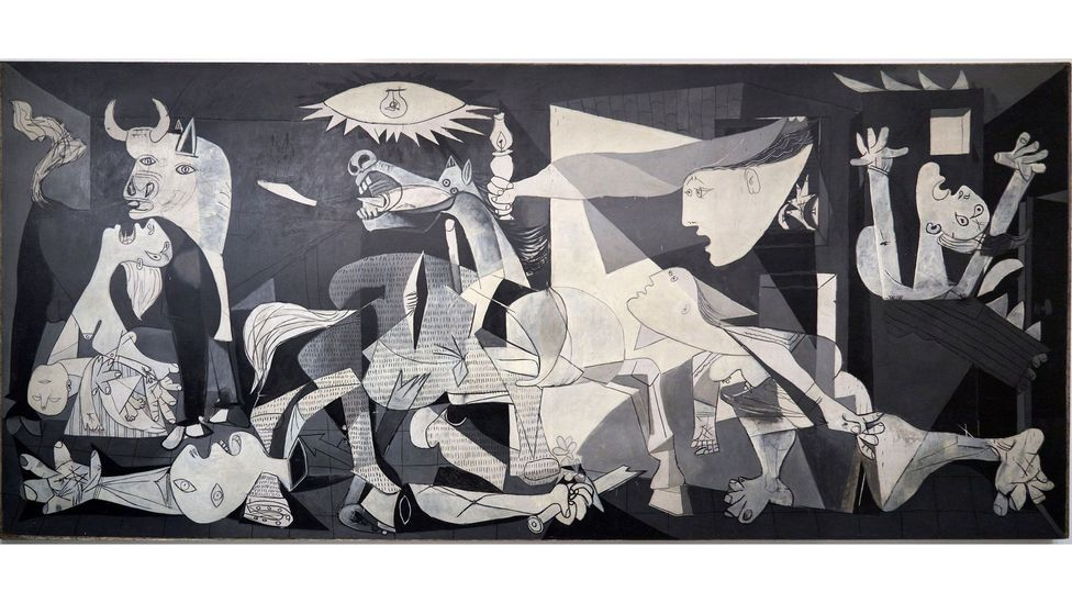 Picasso's Guernica helped garner support for the cause against Franco's Fascism (Credit: Alamy)
