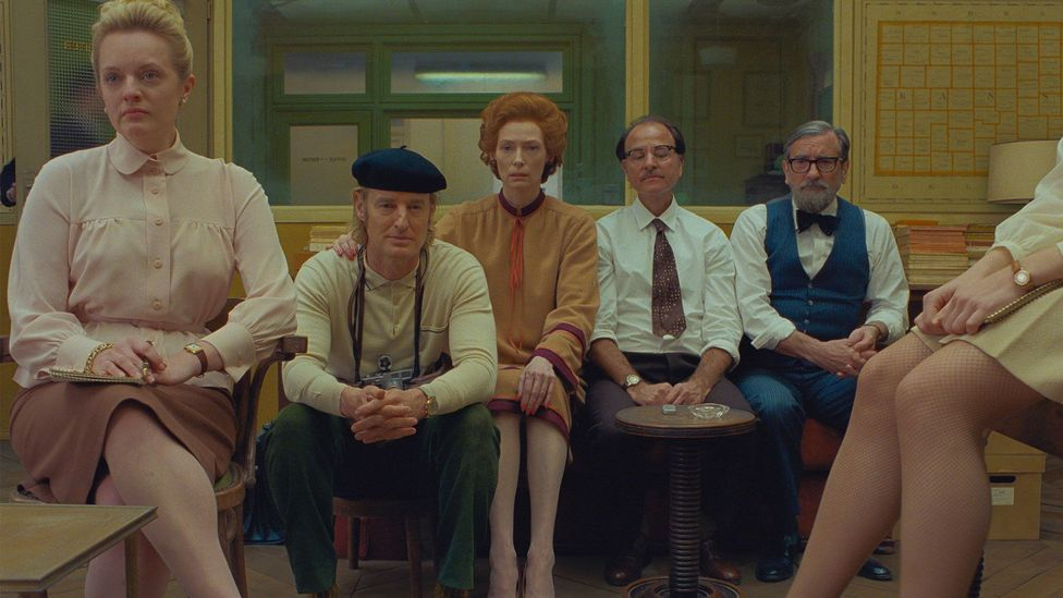 The French Dispatch: Four stars for Wes Anderson's latest - BBC Culture