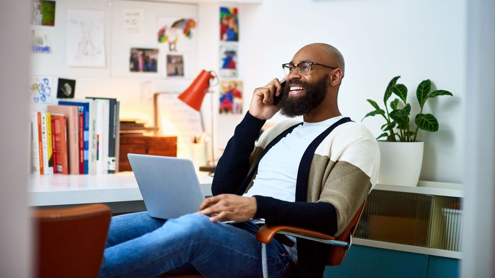 In some cases, introverted workers were better able to address client needs in a remote-work scenario (Credit: Getty Images)