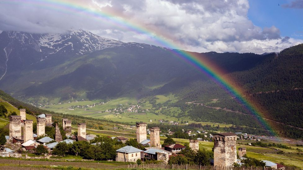 """The villages in Georgia's Svaneti region are punctuated by medieval """"skyscrapers"""""""