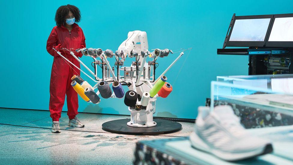 An exhibition at London's Design Museum explores the sneaker as pop-cultural phenomenon (Credit: Design Museum)