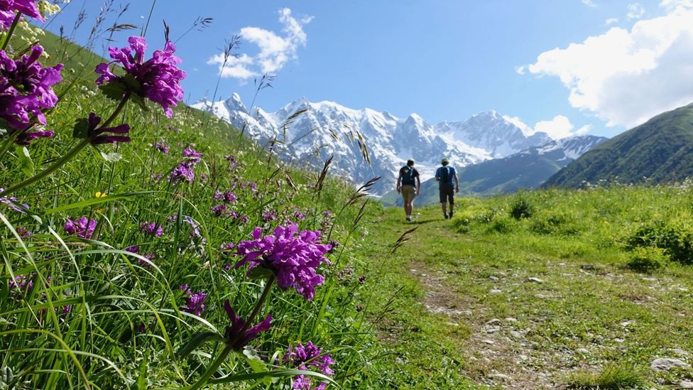 The Mestia-to-Ushguli section of the Transcaucasian Trail is most popular in July and August (Credit: Transcaucasian Trail Association)