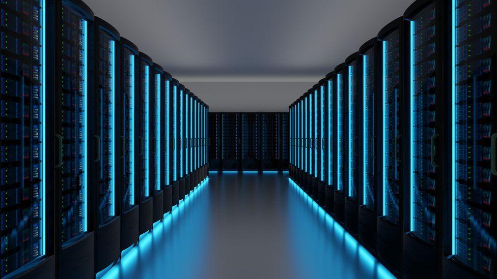 A futuristic data centre (Credit: Getty Images)
