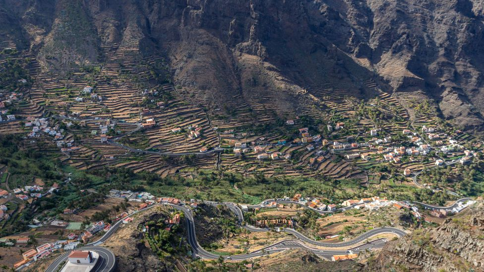 Silbo Gomero is perfectly suited to this landscape of deep valleys and steep ravines (Credit: Richard Franks)