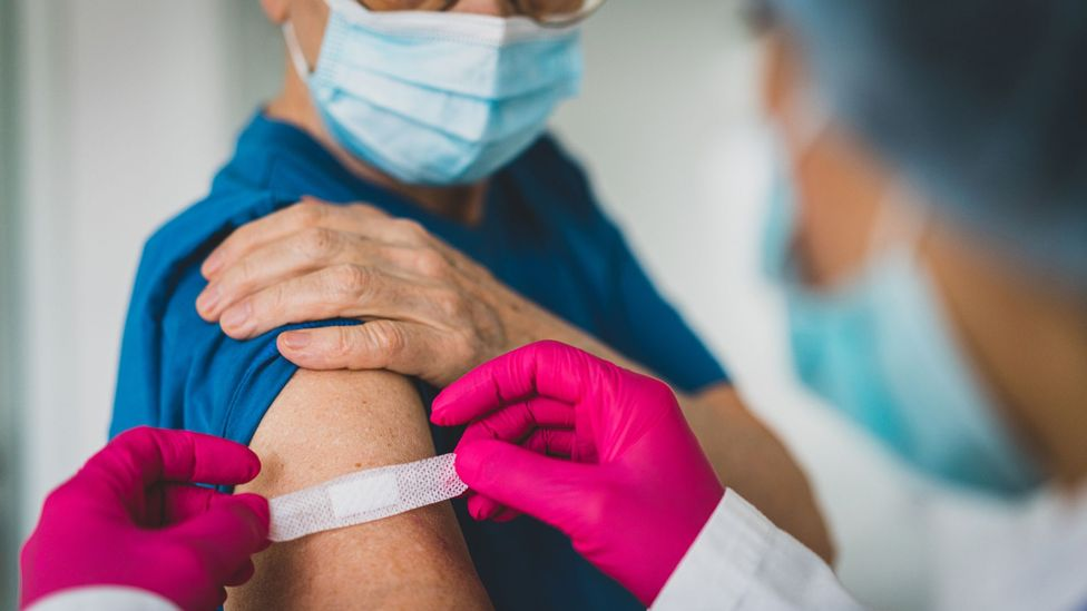Fear of needles is a leading reason why many are reluctant to take the vaccine, research suggests (Credit: Jasmine Merdan/Getty Images)