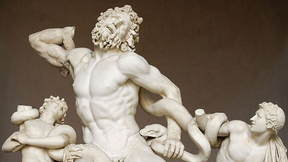 Although Laocoön's facial expression has been criticised for inaccuracy, it could in fact allow the sculpture to reveal conflicting emotions simultaneously (Credit: Alamy)