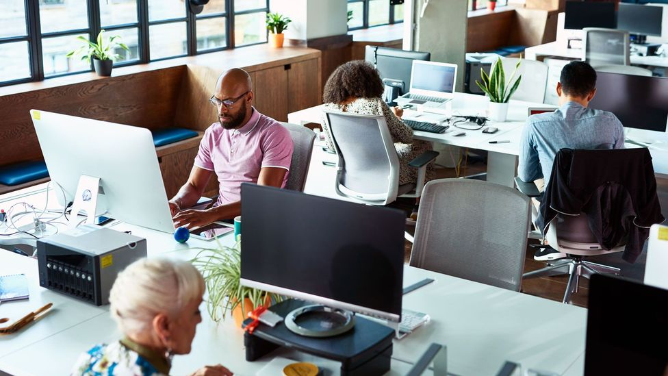 After a year of remote work, some are challenging pre-pandemic work conventions, like the need to be present in offices (Credit: Getty)