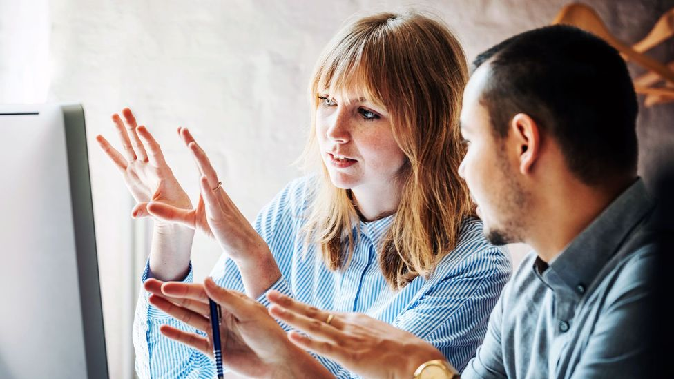 Younger workers are missing the opportunity for mentorship and social connection they'd be more likely to get while in the office (Credit: Getty Images)