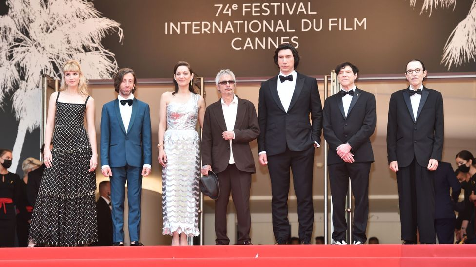 The musical film Annette – with score and screenplay by the Mael brothers – opened the Cannes Film Festival (Credit: Getty Images)