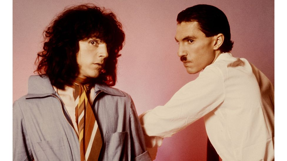 In the 1970s, Sparks became cult superstars with their particular brand of absurdist humour (Credit: Getty Images)