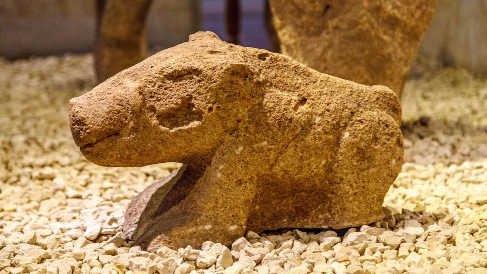 Gobekli Tepe was constructed more than 11,000 years ago, right on the cusp between a world of hunter-gatherers and a world of farmers (Credit: Giulio Ercolani/Alamy)