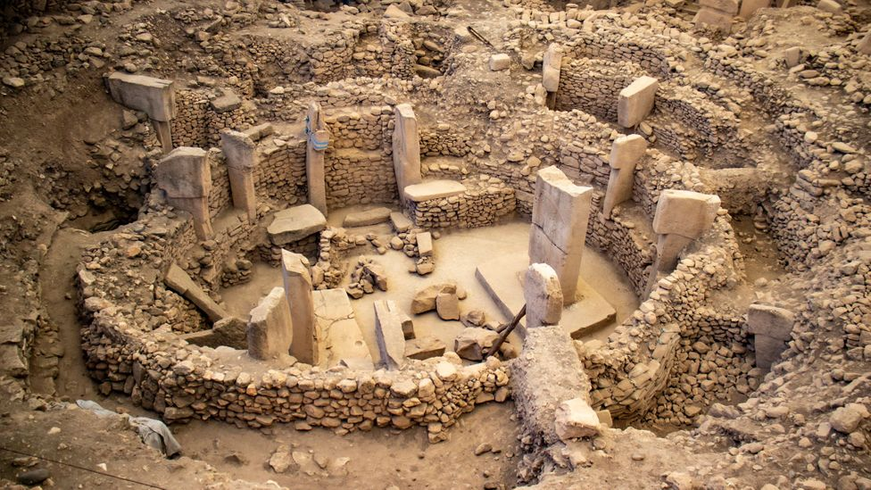 Gobekli Tepe's circular structures have changed the way archaeologists look at the beginnings of civilisation (Credit: Hatice Turkoglu/Getty Images)