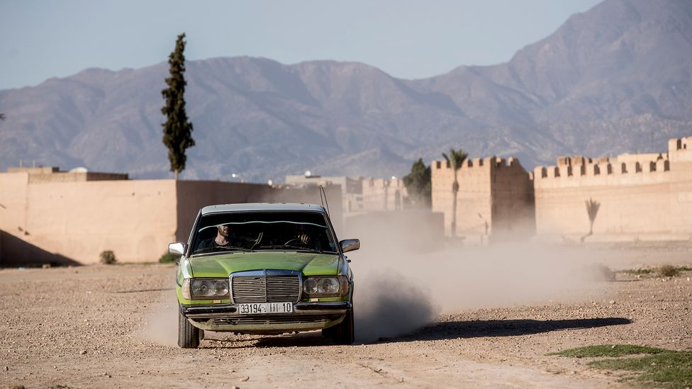 In 2010, the Moroccan government banned the import of all cars more than five years old (Credit: Sam Christmas)
