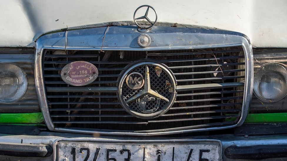 The love affair between Mercedes and Morocco dates to the earliest days of the automobile (Credit: Sam Christmas)