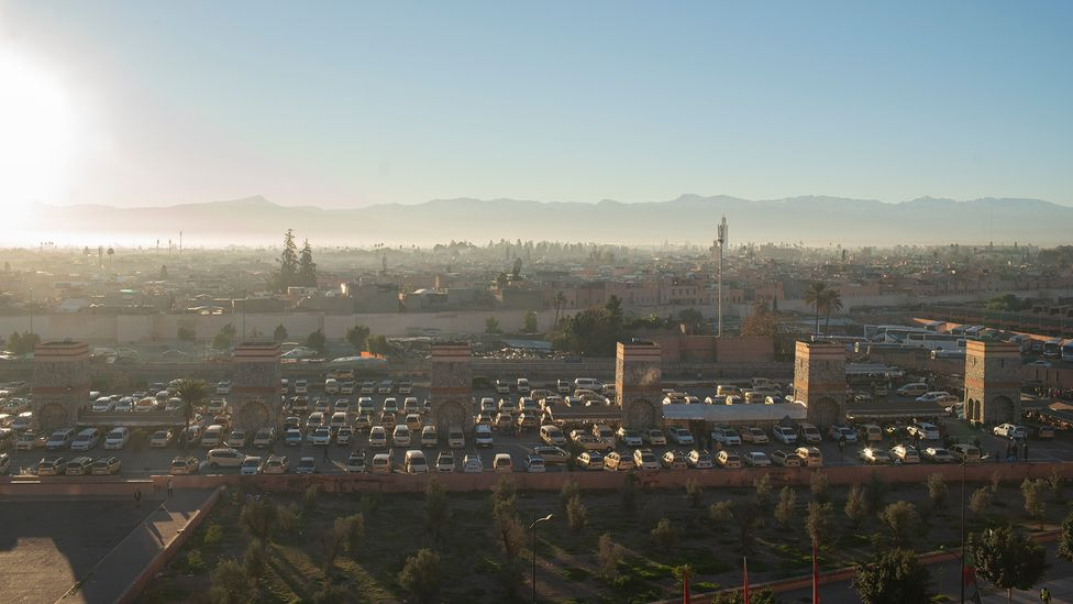 In Morocco, the Place des Grand Taxis is more than a simple taxi rank: it's a main transport hub (Credit: Sam Christmas)