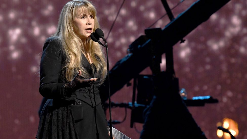 In 2019, Nicks became the first woman to be inducted twice into the Rock and Roll Hall of Fame (Credit: Getty Images)