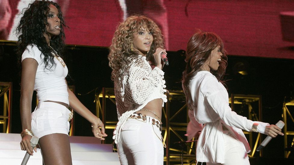 Destiny's Child used Edge of Seventeen's famous riff on their 2001 hit Bootylicious – and featured Nicks in the video (Credit: Getty Images)