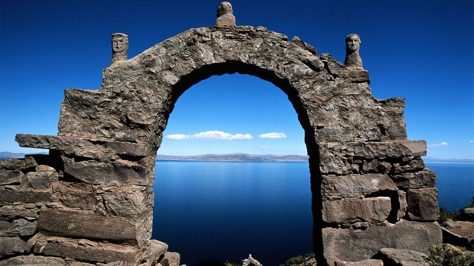 Located in Lake Titicaca, Taquile's long history of isolation has helped preserve its unique culture (Credit: Kevin Schafer/Getty Images)
