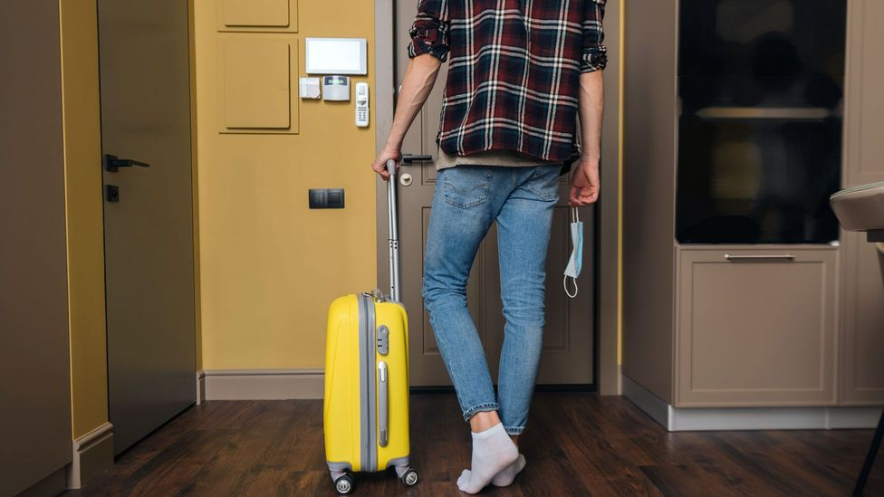 Because we tend to believe we'll be walking through our own door as soon as we leave, the way we plan trips changes (Credit: Getty Images)