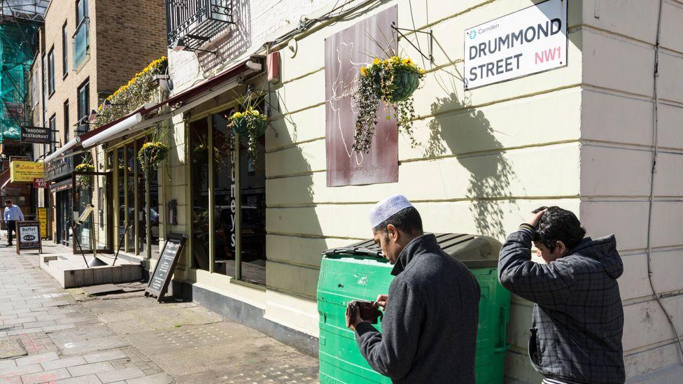 Drummond Street flies under the radar compared to trendier Brick Lane (Credit: Benjamin John/Alamy)