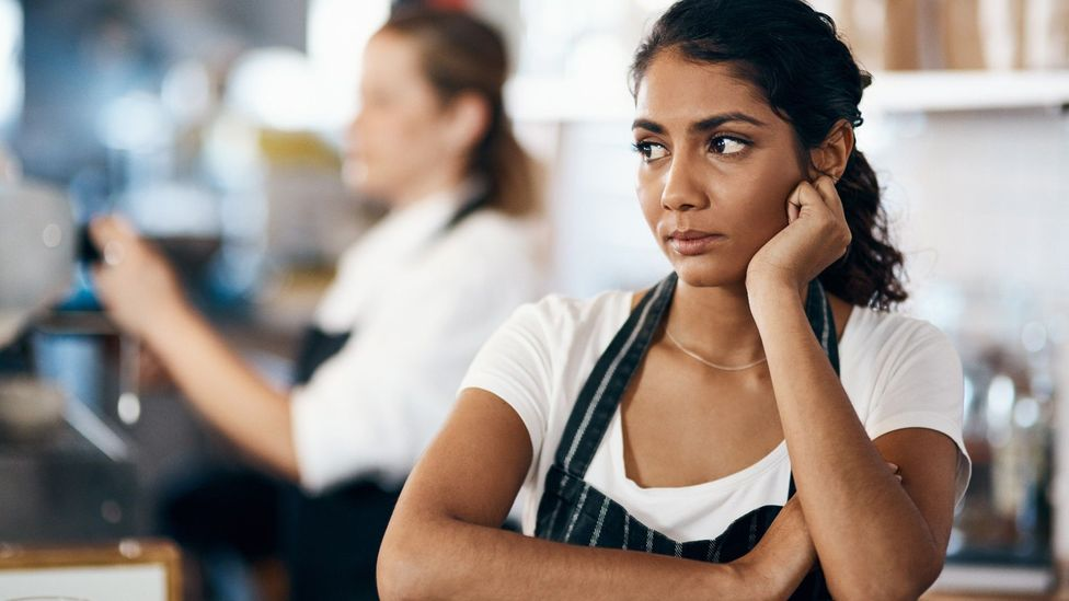Feeling unsafe in the workplace – for whatever reason – is a powerful motivator for an impromptu resignation (Credit: Getty)