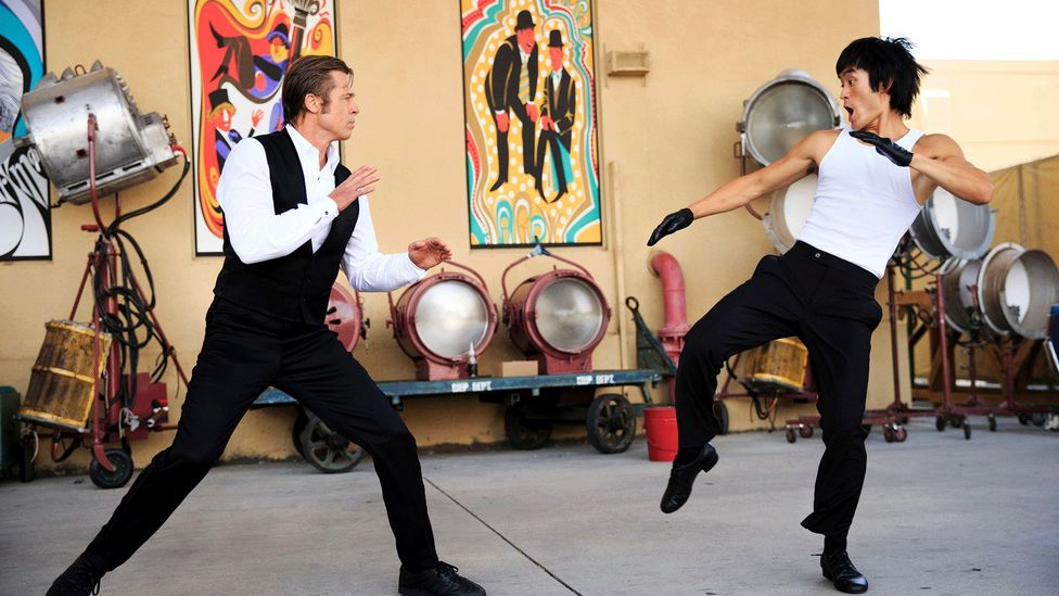 Quentin Tarantino's Once Upon a Time… in Hollywood caused anger for its disparaging portrayal of martial arts legend Bruce Lee (Credit: Alamy)