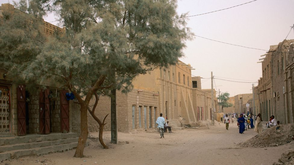 Now a dusty and ramshackle city, Timbuktu once stood at the confluence of some of Africa's most lucrative trade routes (Credit: John Elk/Getty Images)