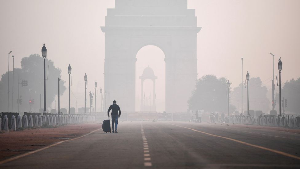 India has the world's worst air pollution – its toxic air kills more than one million people each year (Credit: Sajjad Hussain/AFP/Getty Images)