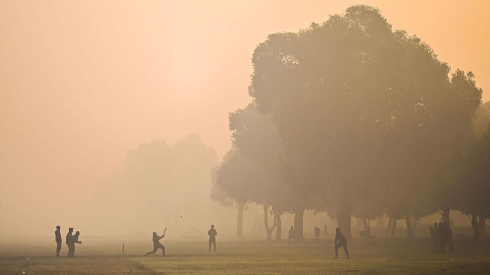 India's cities have some of the worst air quality in the world and air pollution is a major cause of breathing difficulties (Credit: Jewel Samad/AFP/Getty Images)