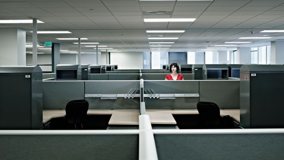 Even if you want to come back to the office, not all of your colleagues will, which may leave you feeling isolated when you expect socialisation (Credit: Getty Images)