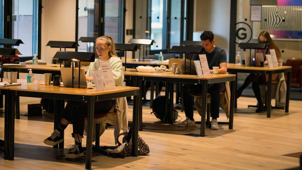 Some companies are opening up wider access to co-working spaces across the globe to enable more worker flexibility (Credit: Getty Images)