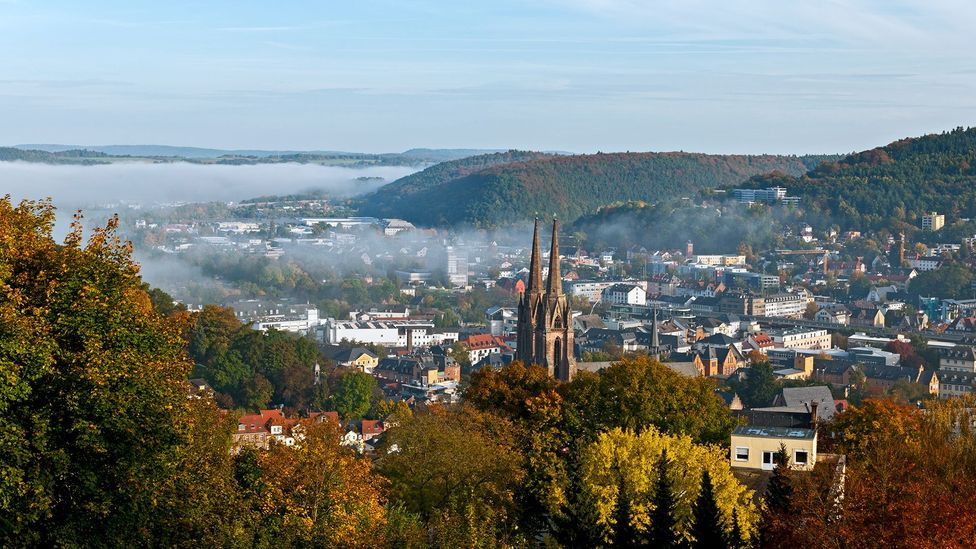 The city of Marburg in Germany has positioned itself as a Blindenstadt, largely thanks to the influence of its school for the blind (Credit: GeorgHanf/Getty Images)