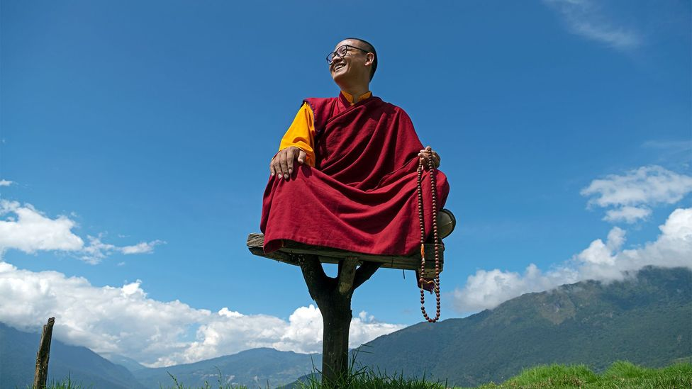 Rinpoche was Bhutan's youngest ever spiritual master when he assumed the position in 2009 (Credit: Scott A Woodward)