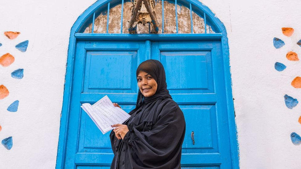 Filmmaker Hafsa Amberkab is helping to connect younger generations to their Nubian culture (Credit: Mai Farouk)