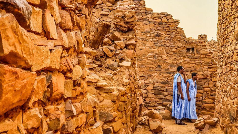 "The Tuareg people are considered the ""blue men of the Sahara"" (Credit: Juan Martinez)"