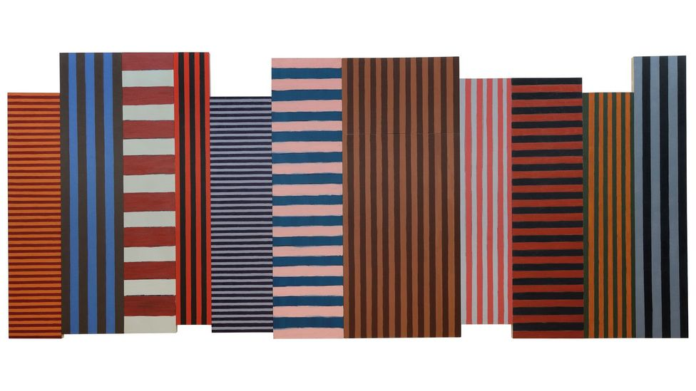 Backs and Fronts, 1981 (Credit: Sean Scully)