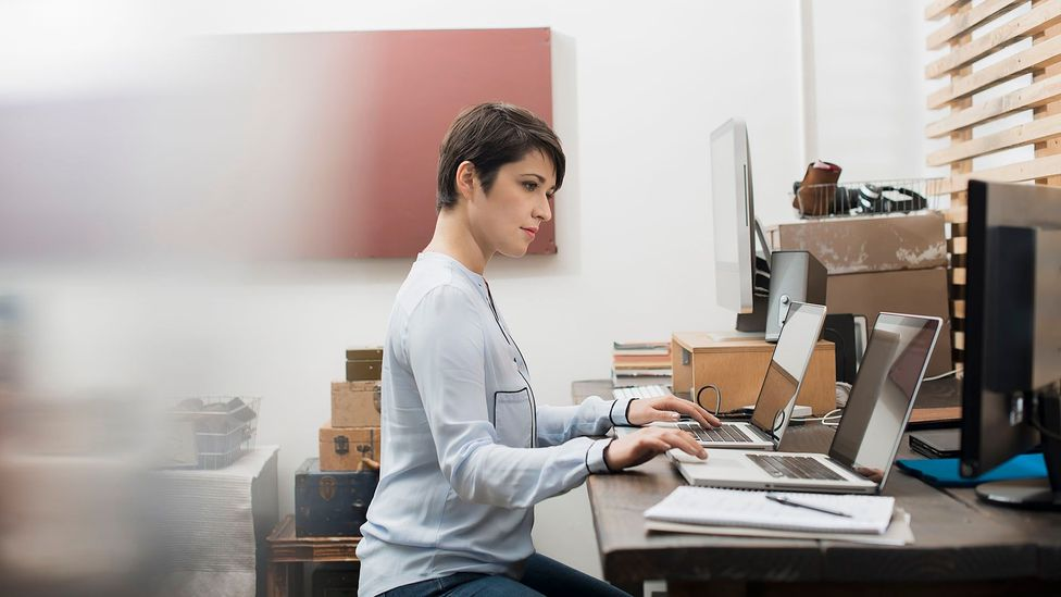 With the rise of remote work during the pandemic era, some workers have taken the opportunity to do secret jobs on the side (Credit: Getty Images)