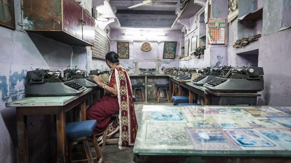India's nostalgic passion for old typewriters