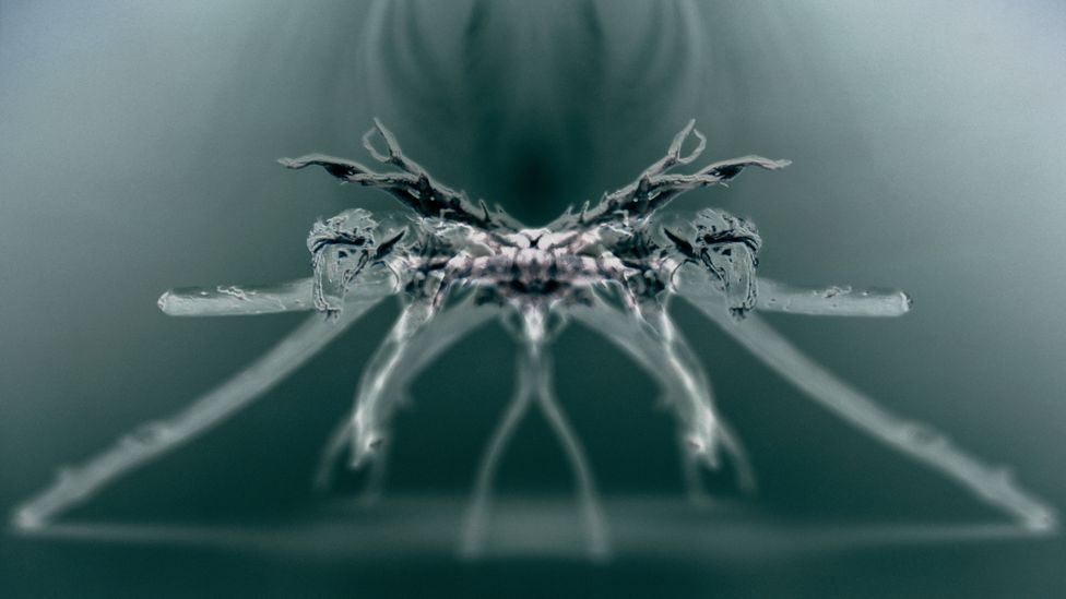 The spider aesthetic occupies a strange grey area – the creatures have some familiar features, but they also look decidedly extraterrestrial (Credit: Alamy)