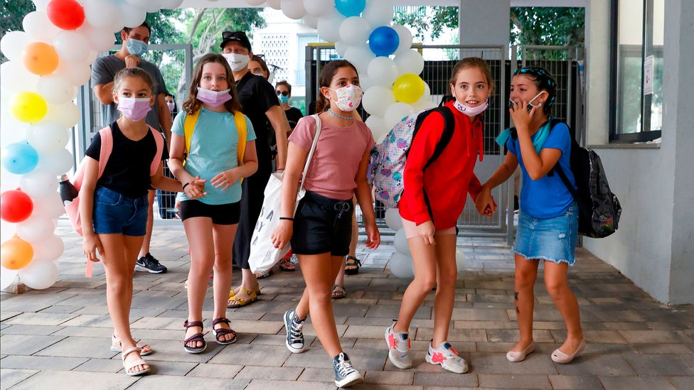 Some parents hope the Covid-19 jab will prevent outbreaks in schools, and stop the cycle of lockdowns and reopenings (Credit: Getty Images)