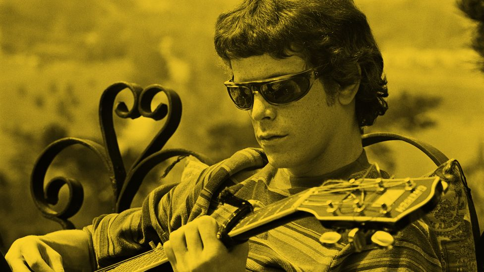 Lou Reed from The Velvet Underground (Credit: Courtesy of Apple)