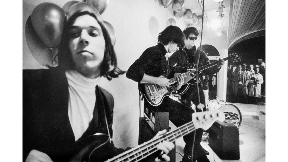 Todd Haynes' documentary about The Velvet Underground mirrors the avant-garde and jaggedly cool style of the seminal 1960s band (Credit: Courtesy of Apple)